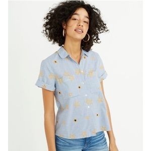 Madewell Star button down